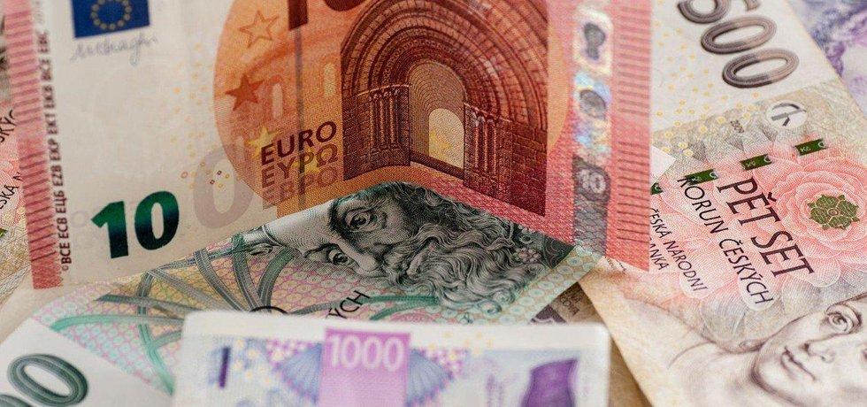 Eura a koruny