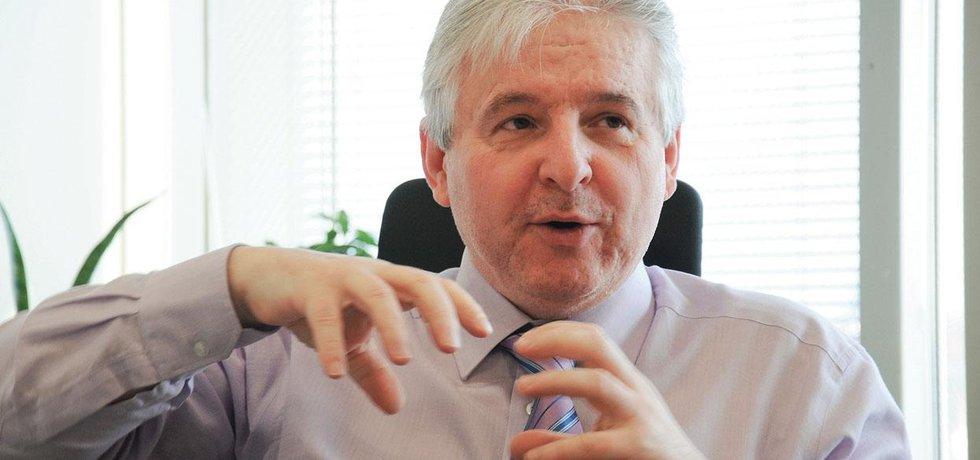 Předseda představenstva ING Penzijního fondu Jiří Rusnok