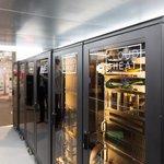 Datový kontejner firmy Cloud&Heat, který vyrábí ve spolupráci s kutnohorskou společností TradeDX.