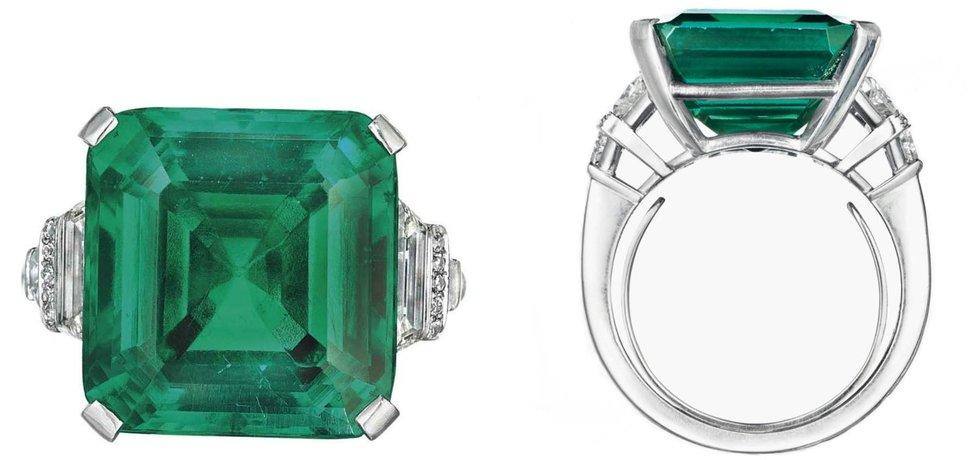 Smaragdový prsten Rockefellerů zlomil rekord v ceně za karát - Euro.cz 8fc12ed95b3