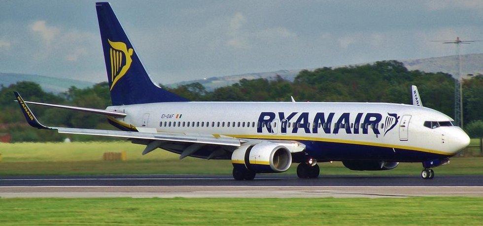 Boeing 737 aerolinek Ryanair