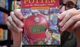 První vydání knihy Harry Potter a Kámen mudrců