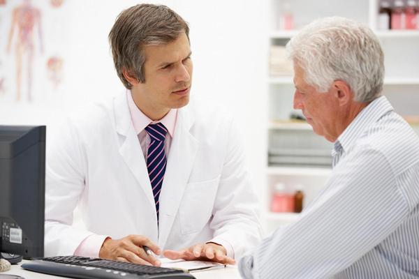 praktik, lékař, ordinace, pacient