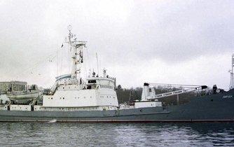 Ruská výzvědná loď Liman