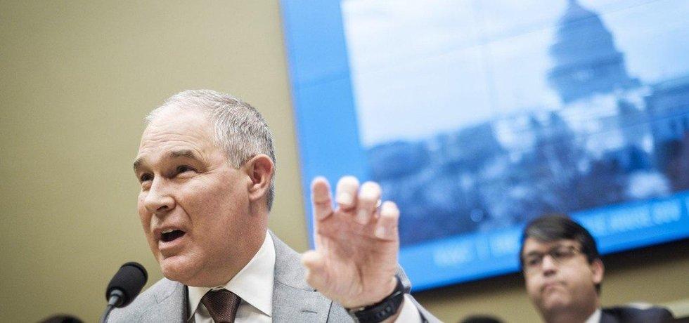 Šéf americké agentury EPA Scott Pruitt, ilustrační foto