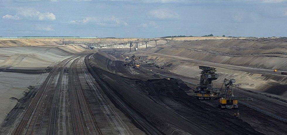 Německý hnědouhelný důl Jänschwalde společnosti Vattenfall