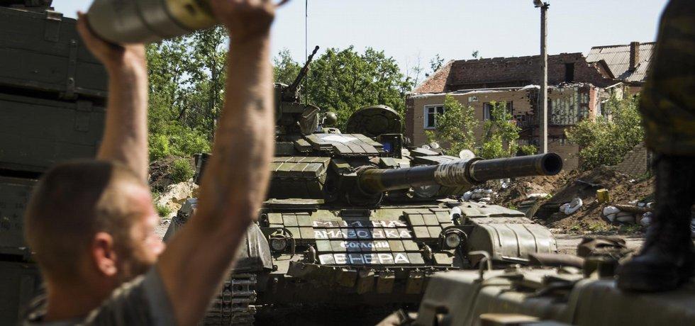 Boje v Donbasu