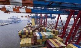 Nákladní přístav v Hamburku, ilustrační foto