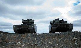 Obrněná vozidla - ilustrační foto