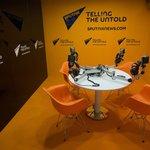 Studio agentury Sputnik na ekonomickém fóru v Petrohradu