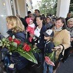 Rozloučení s Karlem Gottem na pražském Žofíně