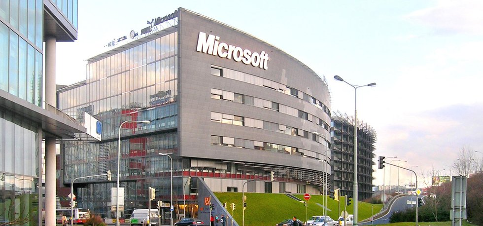 Budova české pobočky Microsoftu v pražské Michli