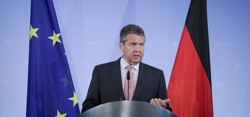 Šéf německé diplomacie Sigmar Gabriel
