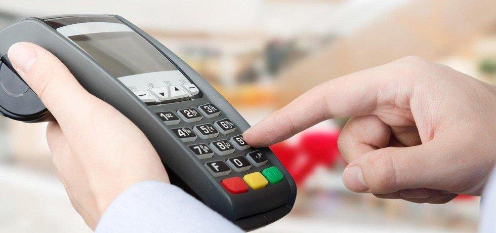 Platba kreditní kartou - ilustrační foto