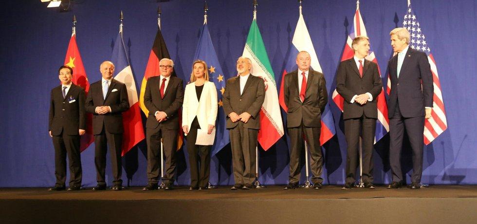Ve švýcarském Lausanne byla uzavřena rámcová dohoda o íránském jaderném programu. Izrael v ní vidí ohrožení své existence. (3. dubna 2015)