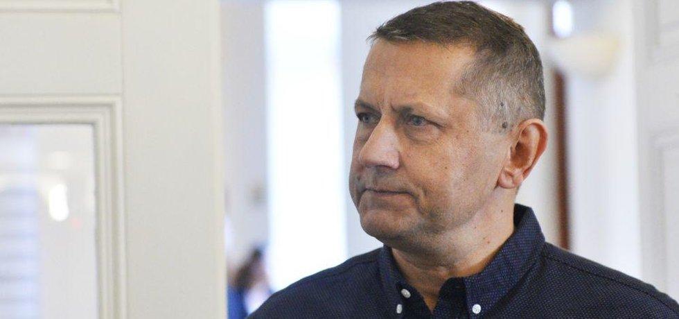 Obžalovaný policejní důstojník Vladimír Slavotínek