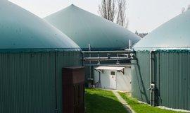 Bioplynová stanice, ilustrační foto