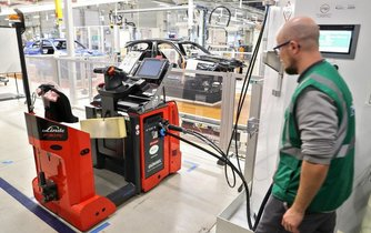 Využití palivového článku na vodík v továrně BMW v Lipsku, ilustrační foto