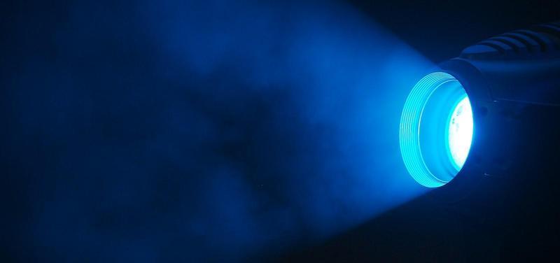 světlo, modré světlo, autismus