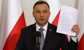 Polský prezident Andrej Duda