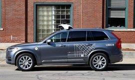 Autonomní vůz Uber