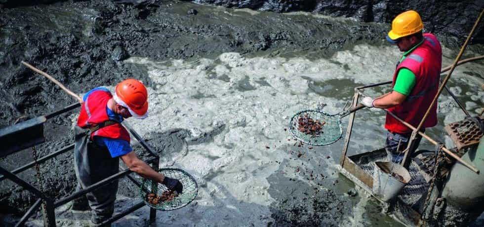 Těžba jantaru