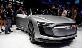 Audi, koncept modelu e-tron