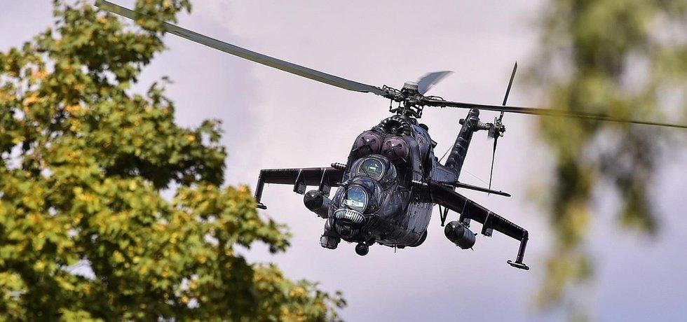 e29d84cb3 Nehoda na cvičení. České armádě spadl další vrtulník Mi-24 - Euro.cz