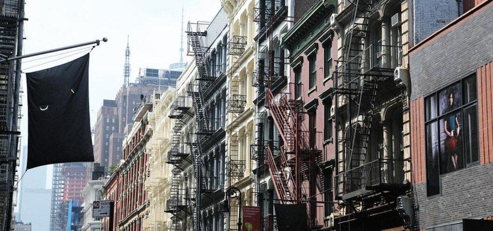 Byty v New Yorku, ilustrační foto