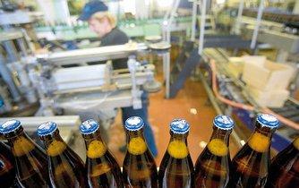 Produkce pivovarů ze skupiny PMS