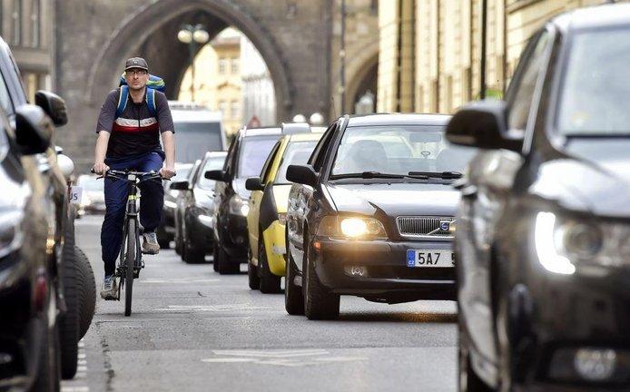 Cyklodoprava v Praze, ilustrační foto