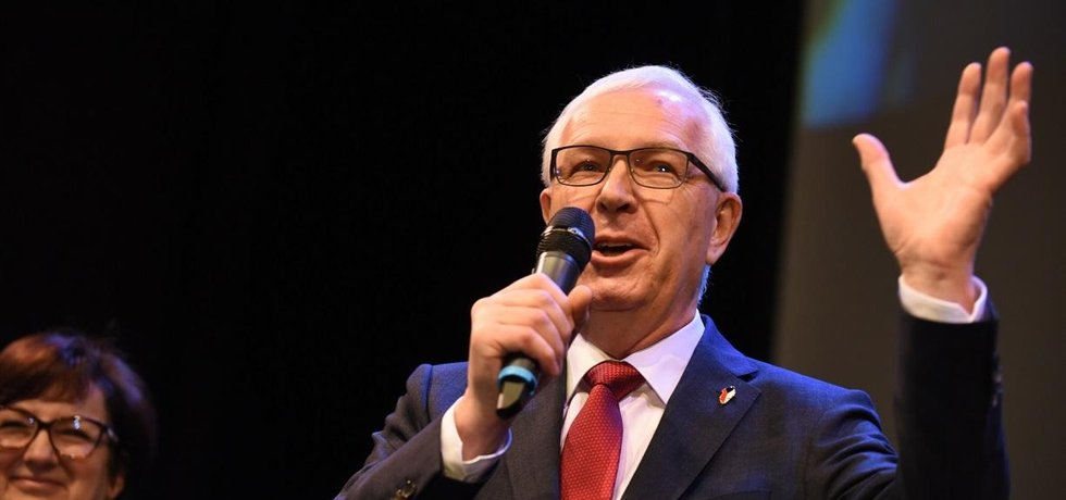 Kandidát na prezidenta Jiří Drahoš