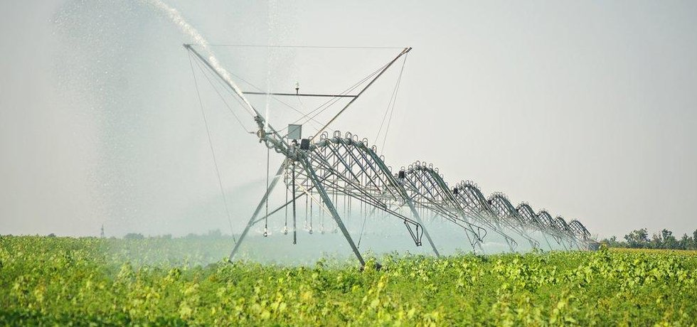 Zavlažovací systém, ilustrační foto