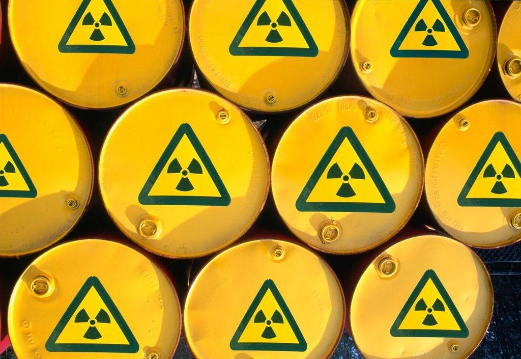Převoz jaderného odpadu, ilustrační foto