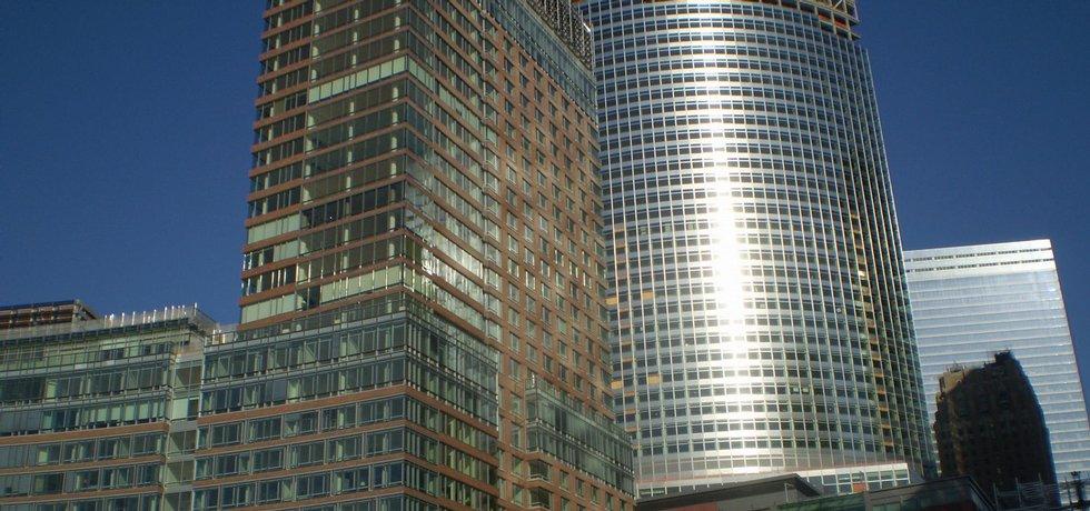 Centrála Goldman Sachs v New Yorku,