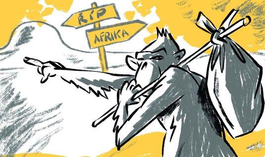 australské africké datování