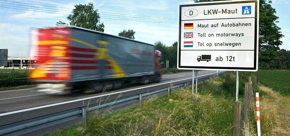 Mýtné v Německu, ilustrační foto