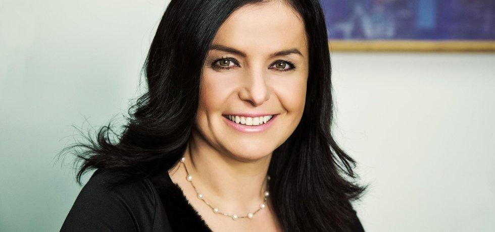 Finanční ředitelka pojišťovny Uniqa Lucie Urválková