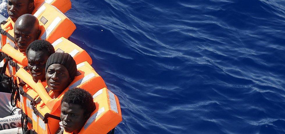 Zachránění migranti