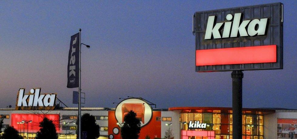 Obchod Kika v Průhonicích