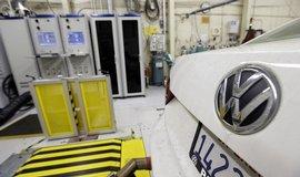 Měření emisí u vozu Volkswagen v USA