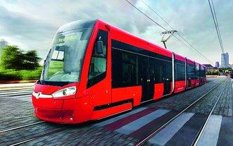 Tramvaj z dílny Škody Transportation, ilustrační foto