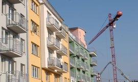 Bytová výstavba v Praze, ilustrační foto
