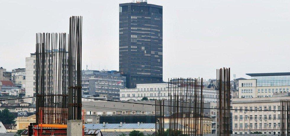 Výstavba komplexu Belgrade Waterfront