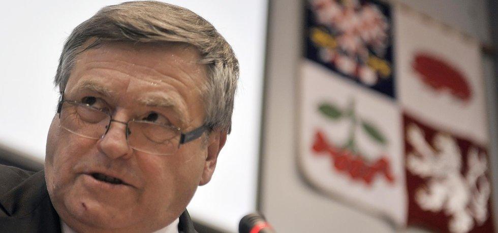 Hejtman Kraje Vysočina a poslanec ČSSD Jiří Běhounek