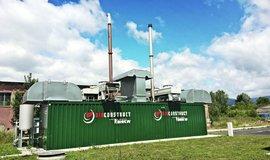 Bioplynová stanice EFG v Rapotíně na Šumpersku