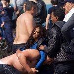 uprchlíci vylovení na řeckém pobřeží