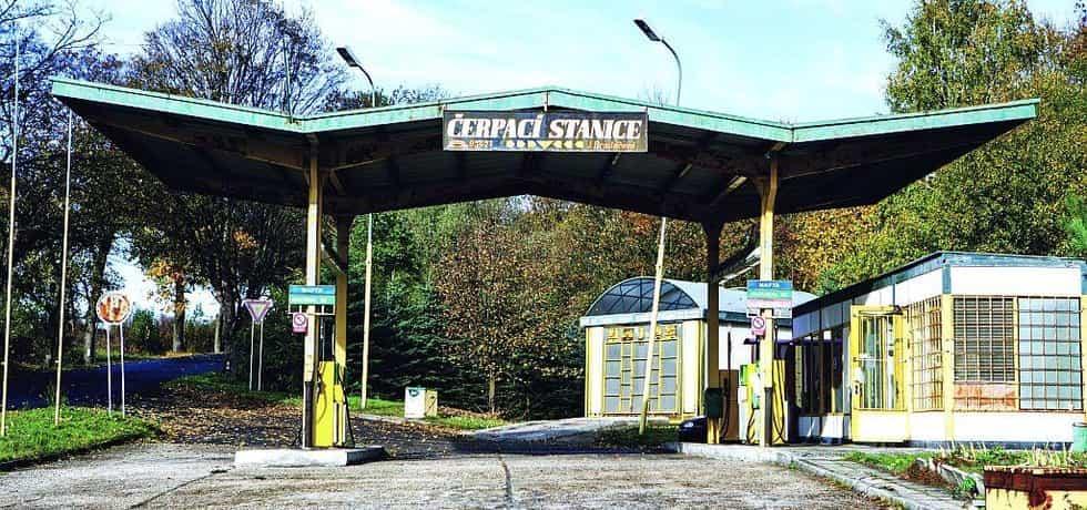 Čerpací stanice, ilustrační foto