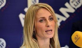 Kandidátka hnutí ANO pro volby do Evropského parlamentu Dita Charanzová