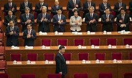 Čínský prezident Si Ťin-pching na Všečínském shromáždění lidových zástupců